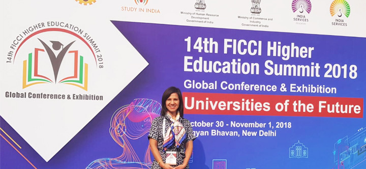 UTEC participates in International Education Fair in India