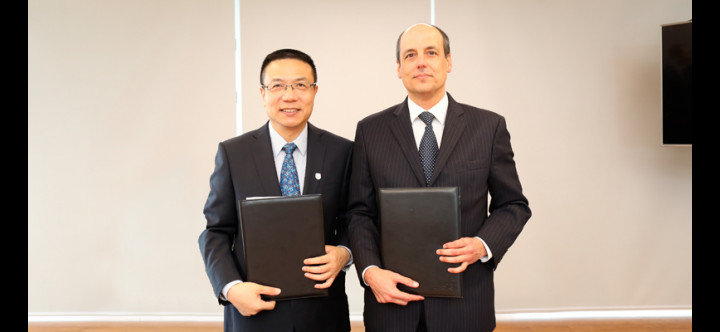 UTEC firma convenio con la universidad china Southwest Jiaotong University